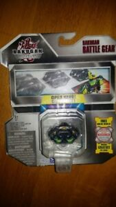 Bakugan Gundalian Invaders Vicer Darkus Black Battle Gear