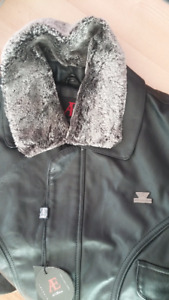 4 leather jackets with great deal!(new)