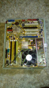 Selling LGA 775 Motherboard With CPU And RAM