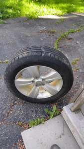 Jeep compass rims and tires
