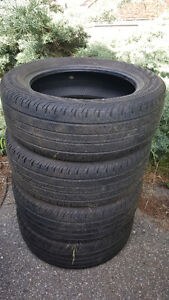 Set of Continental tires 205 55 R16