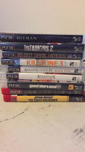 Playstation 3 Games (x9) ALL MUST GO