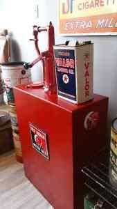 Red Indian Lubester Vintage Antique Motor Oil Porcelain Sign