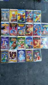 Film VHS pour enfant et autres...