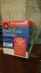 Whole House Bypass Flow-Though Humidifier