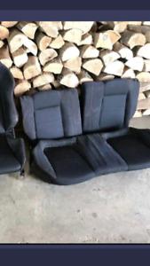 Acura Integra GSR Recaro Rear Seats