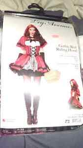 Gothic Red Riding Hood costume $50