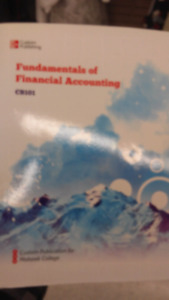 Fundamentals of financial accounting Mohawk CB101