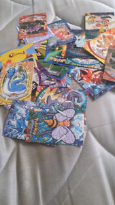 34 EXTREMELY RARE MINT POKEMON CARDS FROM THE 90'S