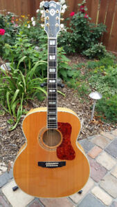 2005 Guild F50 Blonde Traditional with factory D-Tar system