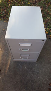 2 drawer File Cabinet Safe with key