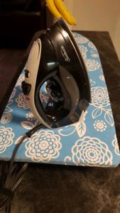 Sunbeam Iron and Countertop Ironing Board