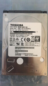 "1TB internal drive 2.5"" Toshiba"