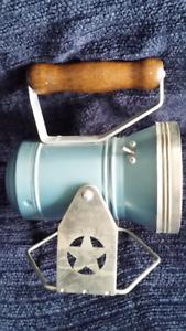 Star Headlight Lantern Vintage Working