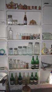 Antique Bottles/Jars/Porcelain/Silver/Ephemera/China/Etc..