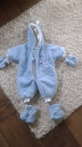 Baby snow suit, 6-9 months
