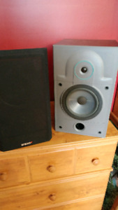 Speakers and Stereo Receiver