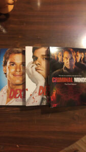 Dexter seasons 1 and 2 Criminal Minds season 1