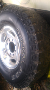 8 Bolt Wheels & Tires $450 O.B.O.