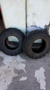 2 polaris tires 26x8x12