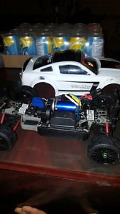 Traxxas Rally brushless 1/16 used