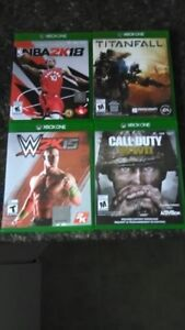 Xbox one games $60 for all four