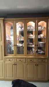 China cabinet pantry
