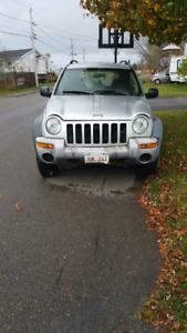 2003 Jeep Liberty Grey SUV, Crossover