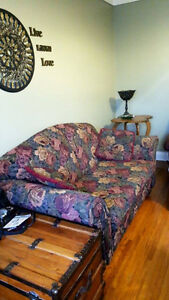 Loveseat and Chair Living-room Furniture Couch