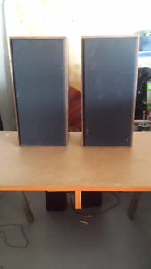 Speakers $40 a pair or $125 for the lot