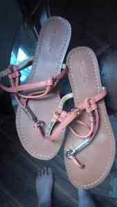 Brand New Coach Authentic Leather Sandals