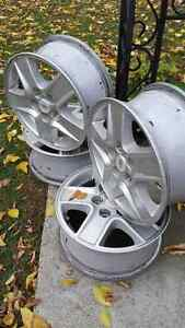 15 inches alloys rim from Malibu for $160 West Island Greater Montréal image 1