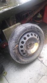 Volvo V70 Spare wheel