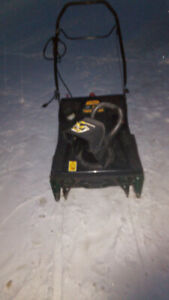 Snow thrower. 21 inch. Just tuned up. Works great.