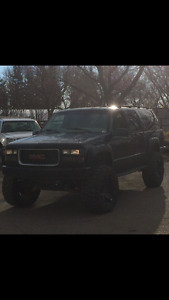 1999 GMC Suburban Lifted Black SLT SUV, Crossover