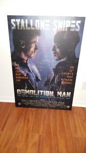 poster demolition man.... pinball