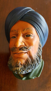 Bossons England Chalkware Bust