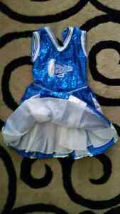 Cheerleader costume size small, 6 or 6x,  London Ontario image 2