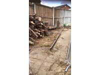 For sale, Logs for fire wood