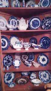 Antique Flow blue / Wedgewood many other assorted China Kingston Kingston Area image 5
