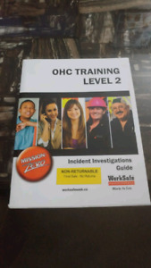OHS Training Level 2 Incident Investigations Guide