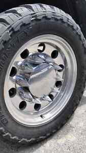 Wanted. Mickey Thompson classic big rig wheels