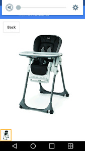 ISO Chicco high chair tray