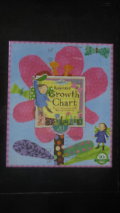 """Hot pink flower"" Growth chart"