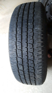 USED 15 inch tires and rims FOR SALE (set of 4)