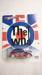 HOT WHEELS FAT FENDERED 40 THE WHO POP CULTURE DIECAST MINT