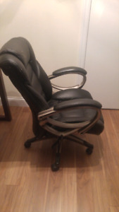 Leather office chair. $20