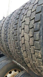 Truck tires 24.5 set of 8