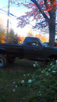 1988 Ford F-250 Black Pickup Truck