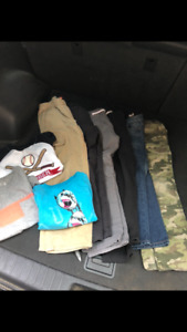 Lot of boys clothes size 7 and 8